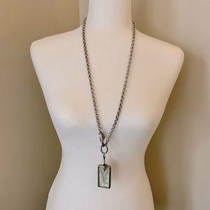 "Jewel Kade Follow Your Heart Pendant & 32"" Chain"